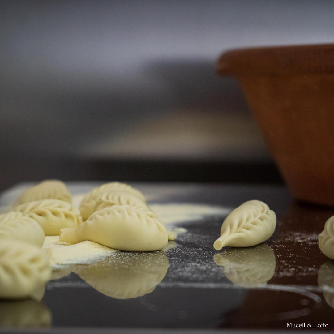 Culurgionis D'Ogliastra IGP - Muceli e lotto la pasta della longevità - Pasta fresca Ogliastra